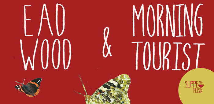 Ead Wood und Morning Tourist spielen am 17. August 2018 bei Suppe mag Brot in Landau.